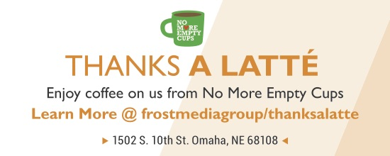 Frost Media Group Campaign Thanks a Latte