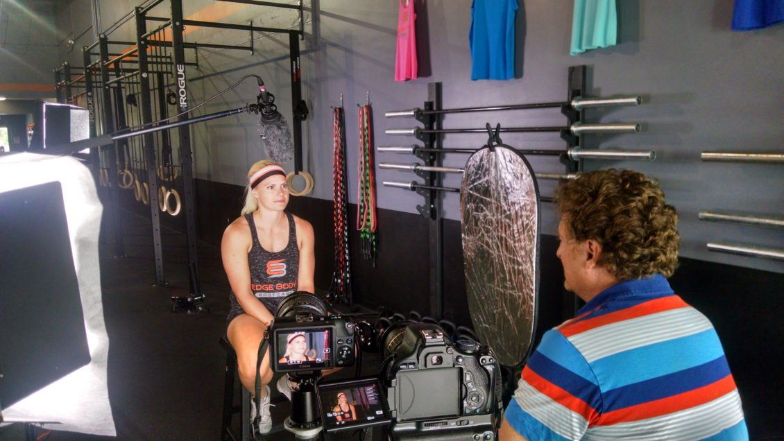 Edge Body Marketing Ad Video Shoot campaign Behind the Scenes