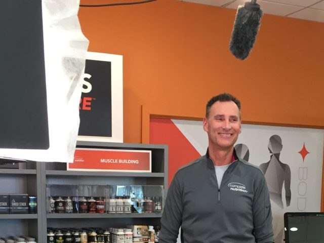 Complete Nutrition Marketing Ad Video Shoot campaign Behind the Scenes