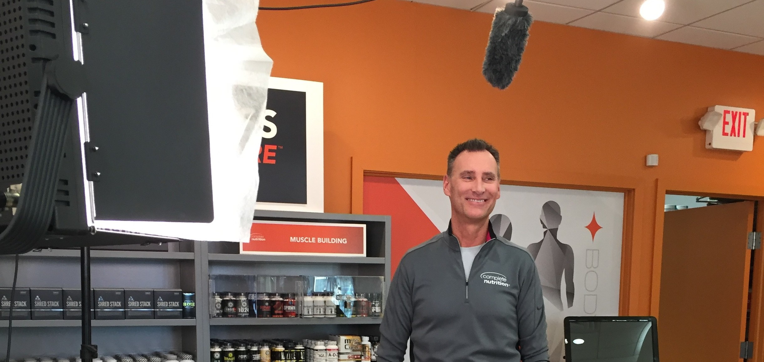 Complete Nutrition's 'Complete You Challenge' Video Shoot