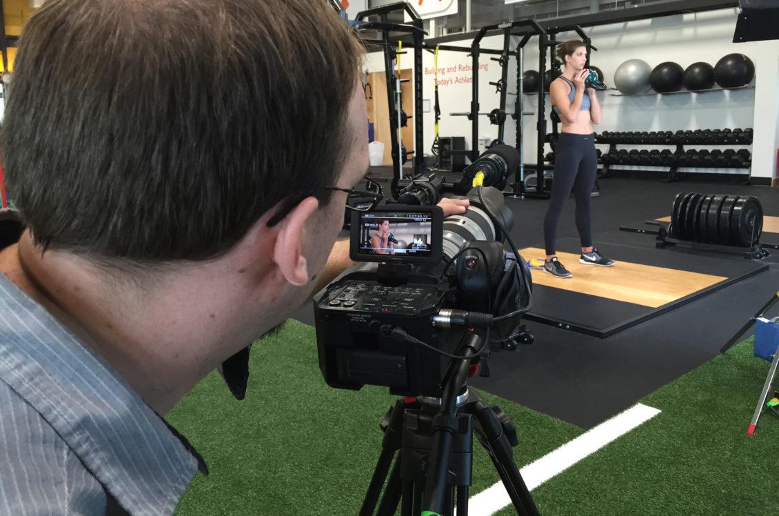 Video Behind the Scenes Lauren Sieckmann Fitness Shoot Viral Marketing Ad Agency Omaha