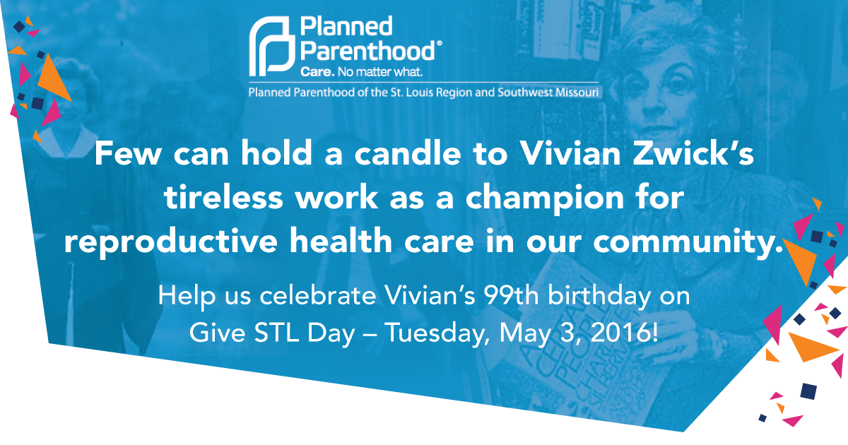 Give STL Day | Planned Parenthood St. Louis Region