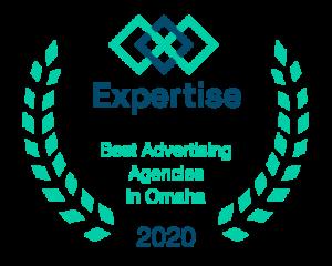 Badge Best Advertising Agencies in Omaha 2020 (Expertise)
